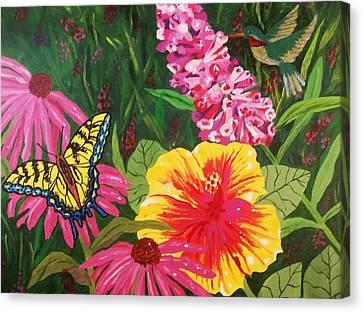Summer Garden Canvas Print