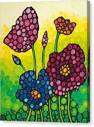 Summer Garden Canvas Print by Sharon Cummings
