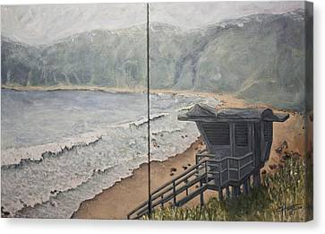 Summer Haze Canvas Print by C Michael French