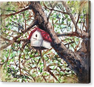 Canvas Print featuring the painting Summer Home by Shana Rowe Jackson