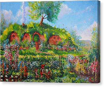 Summer In The Shire Canvas Print by Joe  Gilronan