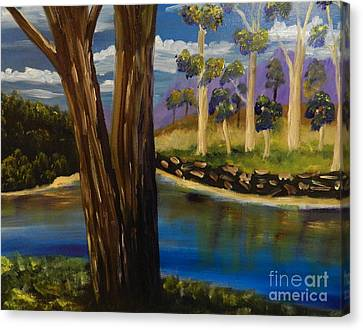 Summer In The Snowy River Region Canvas Print