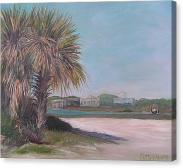 Summer Island Canvas Print