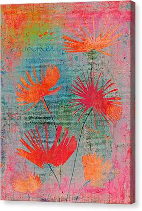 Summer Joy - 44bb Canvas Print by Variance Collections