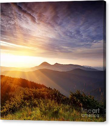 Summer Landscape Canvas Print by Boon Mee