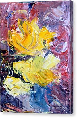 Summer Love Canvas Print by Teresa Wegrzyn