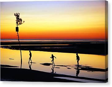 Summer Memories Canvas Print by James Kirkikis
