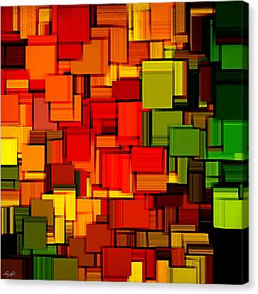 Summer Modern Abstract Art Xviii Canvas Print by Lourry Legarde