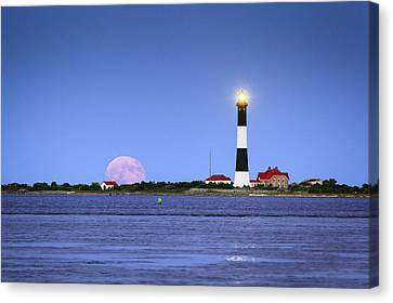 Summer Moon Canvas Print