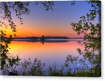 Harmonious Canvas Print - Summer Morning At 02.05 by Veikko Suikkanen