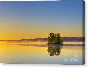 Summer Morning At 5.05  Canvas Print by Veikko Suikkanen