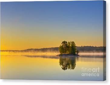 Harmonious Canvas Print - Summer Morning At 5.05  by Veikko Suikkanen
