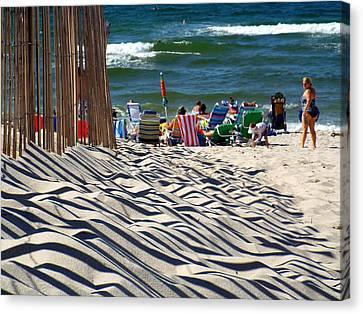 Summer On Cape Cod Canvas Print by Dianne Cowen