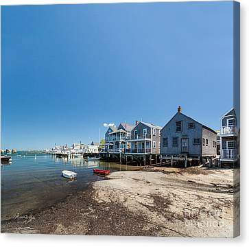 Summer On Nantucket Island Canvas Print by Michelle Wiarda