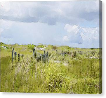 Summer On The Dunes Canvas Print by Dave Sandt