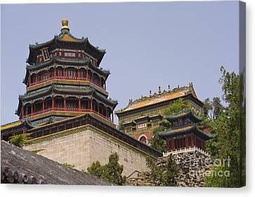 Summer Palace, Beijing Canvas Print by John Shaw