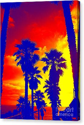 Summer Palms Canvas Print
