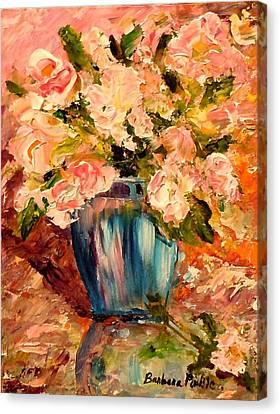 Summer Petals Canvas Print by Barbara Pirkle