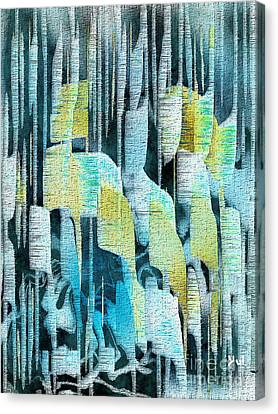 Summer Rain Canvas Print by Yul Olaivar