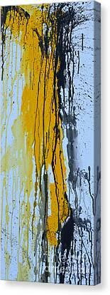 Summer Rein- Abstract Canvas Print by Ismeta Gruenwald