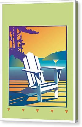 Summer Relax Canvas Print