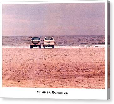 Police Art Canvas Print - Summer Romance by Lorenzo Laiken
