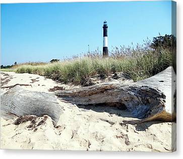 Canvas Print featuring the photograph Summer Scene by Ed Weidman