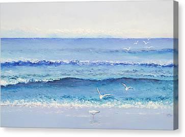 Summer Seascape Canvas Print by Jan Matson