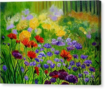 Summer Show Canvas Print by Julie Brugh Riffey