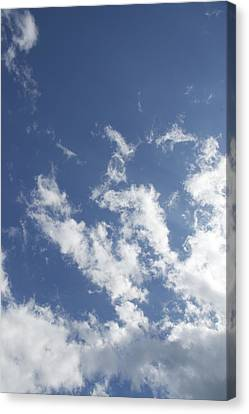 Canvas Print featuring the photograph Summer Sky by Dorothy Maier
