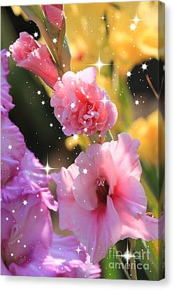 Sweet Touch Canvas Print - Summer Sparkle by Carol Groenen