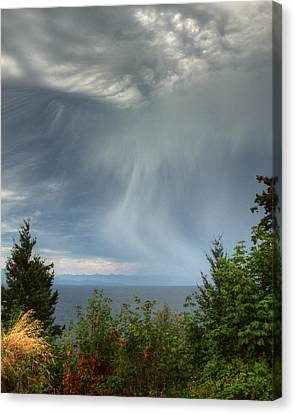 Summer Squall Canvas Print by Randy Hall