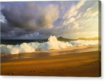Canvas Print featuring the photograph Summer Storm by Eti Reid