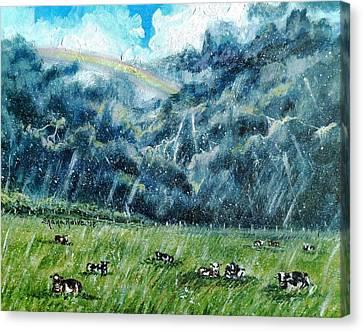 Summer Storm Canvas Print by Shana Rowe Jackson