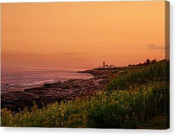 Summer Sunset Canvas Print