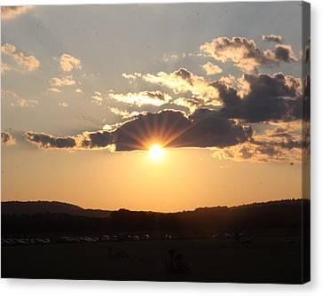 Summer Sunset Canvas Print by Mustafa Abdullah