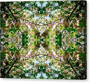 Summer Symmetry Canvas Print