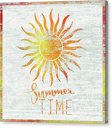 Sunshine Canvas Print - Summer Time by Cora Niele