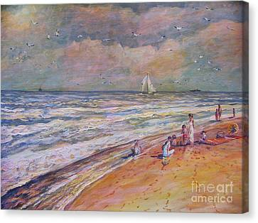 Summer Vacations Canvas Print