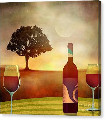 Summer Wine Canvas Print