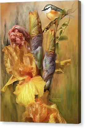Summer Wonders Canvas Print by Carol Cavalaris