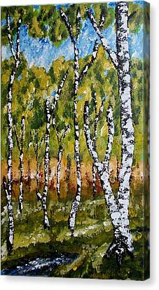 Summerforest Canvas Print