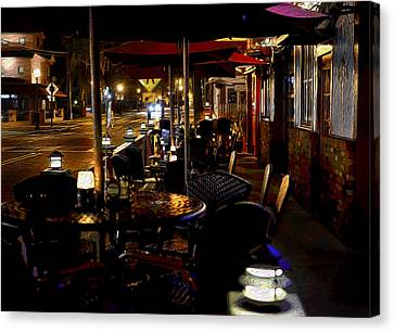 Summerlin Cafe Canvas Print