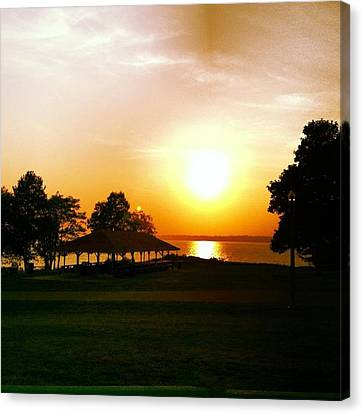 Summers End Canvas Print by Stephen Melcher