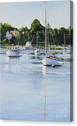 Summer's Eve Canvas Print by Karol Wyckoff
