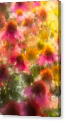 Summer's Palette Iphone Case Canvas Print by Heidi Smith