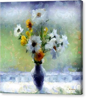 Summerstorm Still Life Canvas Print