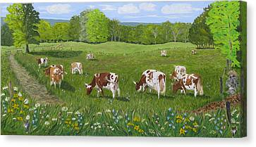 'summertime And The Living Is Easy' Canvas Print