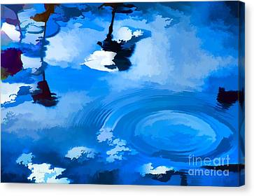 Summertime Blue Canvas Print by Robyn King