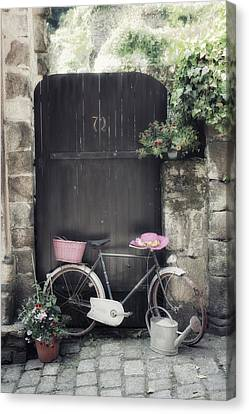 Gate Canvas Print - Summertime by Joana Kruse